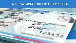 CARTA D'IDENTITA' ELETTRONICA
